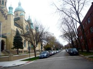 Одна из улиц украинской околицы Чикаго.