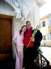 Папа и доця