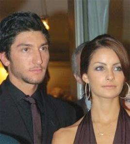 Лисачек вместе со своей ex-girlfriend Танит Белбин (фото http://b4tea.com/)