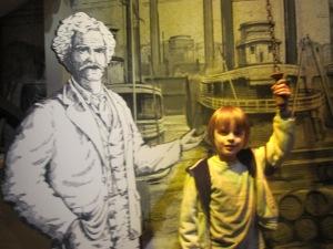 Музей в Арке: Марк Твен и Саша
