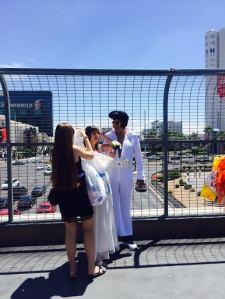 Весілля на вулицях Лас Вегаса
